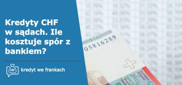 LawStream - Kredyty frankowe w sądach. Ile kosztuje spór z bankiem?