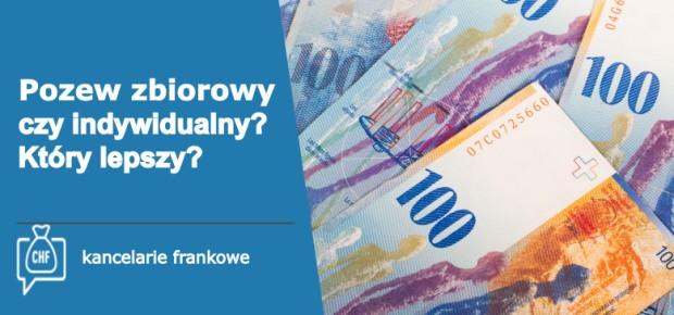 LawStream - Kredyt we frankach pozew zbiorowy czy indywidualny?